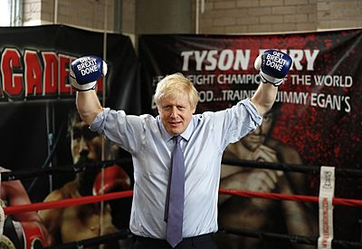 Boris boxing