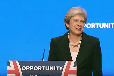 Theresa May's Conservative Party Conference speech 2018