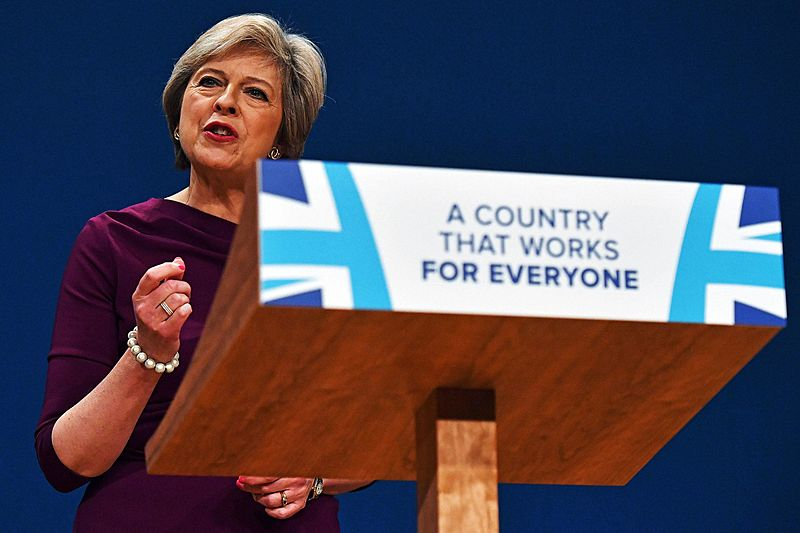 Theresa May lays out her vision for Brexit