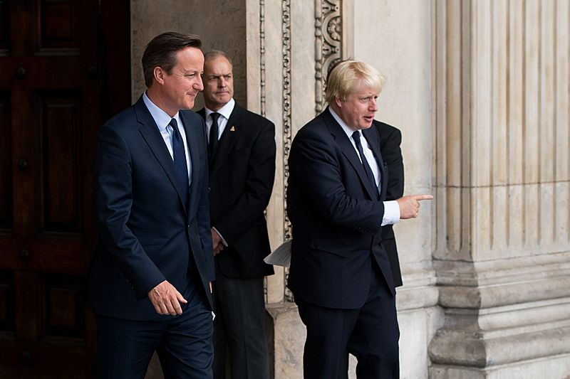 David Cameron should replace Boris Johnson as Foreign Secretary